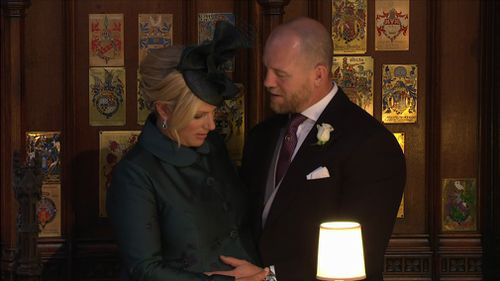 Zara Phillips, cousin of Prince Harry, is eight months pregnant. Picture: WENN