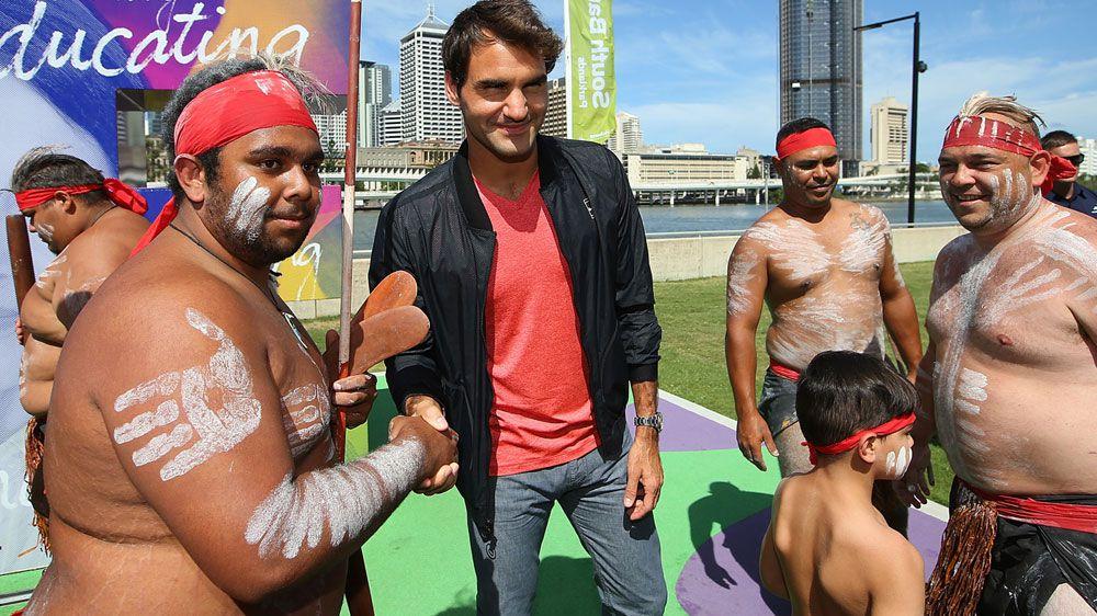 Roger Federer. (Getty)
