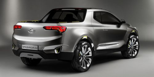 Kia collaborates with Hyundai on research and development. This is the Hyundai Santa Cruz concept currently in the works.