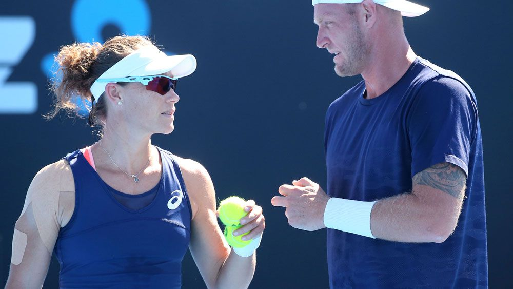 Samantha Stosur and Sam Groth. (Getty Images)