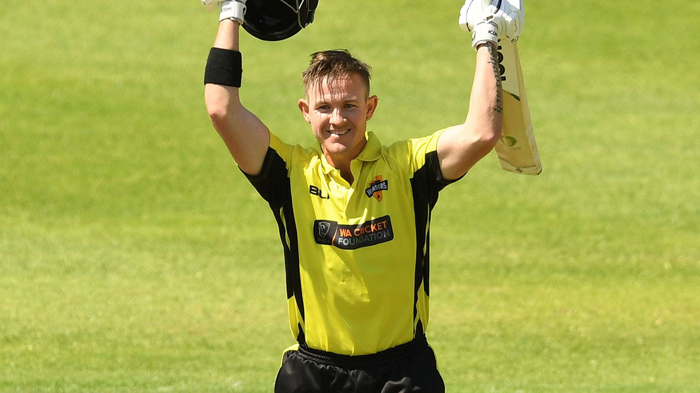 D'Arcy Short has broken the record for the highest score in  a 50-over game in Australia.