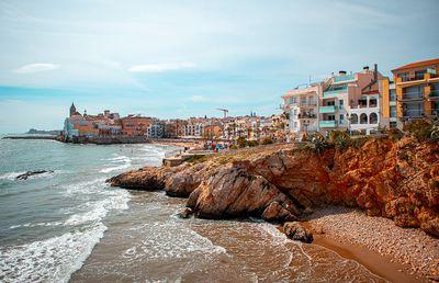 20. Sitges Beach, Barcelona, Spain - 175 pictures per metre