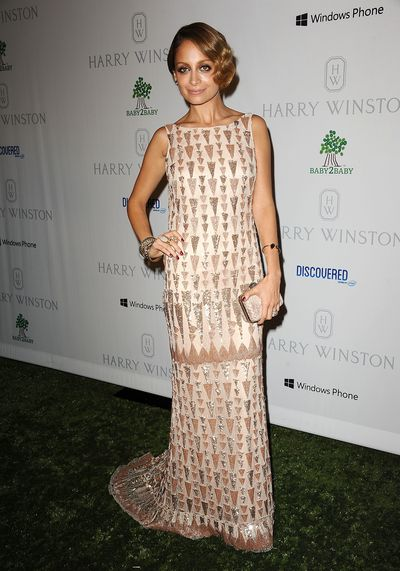 Nicole Richie at the 1st annual Baby2Baby gala in California, November, 2012