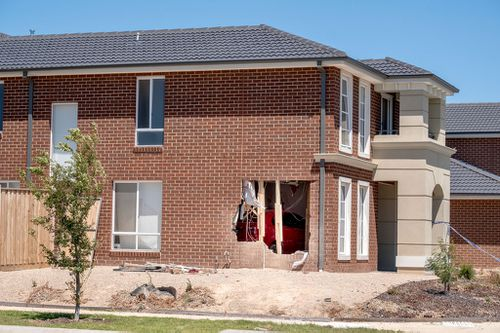 The damage to the house was extensive. (Image: AAP)
