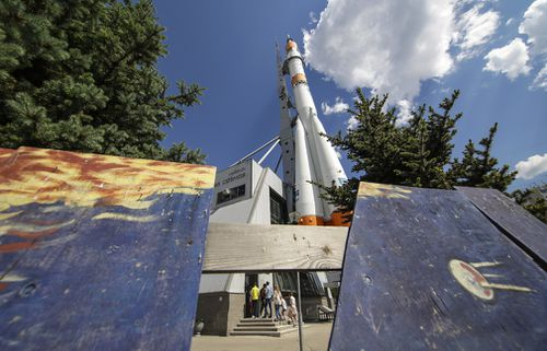 The Samara Cosmos Museum is dedicated to Soviet-era space exploration. (AAP)