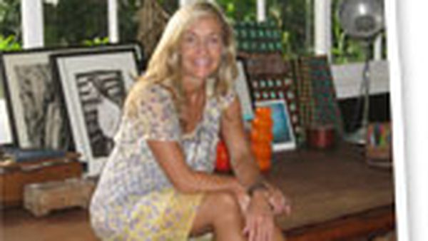 At home with... Deborah Bibby, real living editor