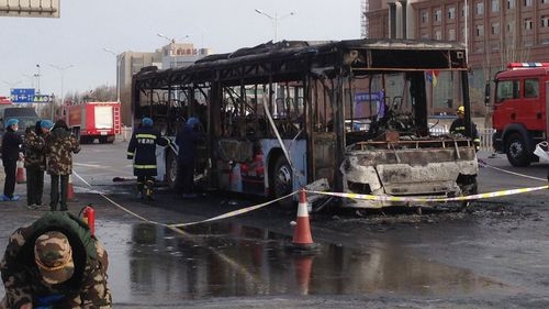 Chinese bus arsonist handed death penalty