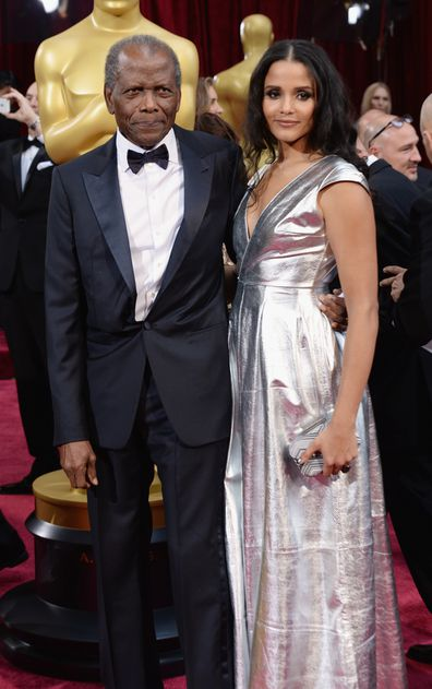 Sidney, daughter Sydney Tamiia Poitier, Oscars, red carpet