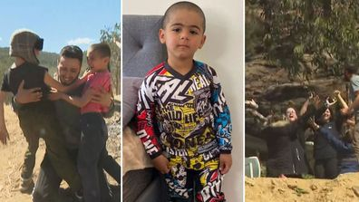 Anthony 'AJ' Elfalak has been found alive after four days in the bush on his family's property in Putty, NSW.