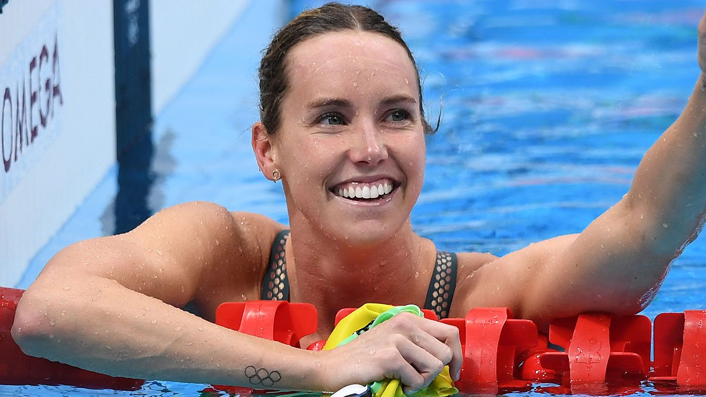 McKeon snaps Olympic record in freestyle heats