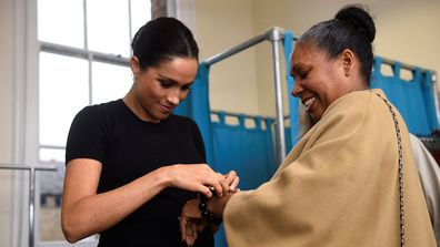 Duchess of Sussex at Smart Works charity London