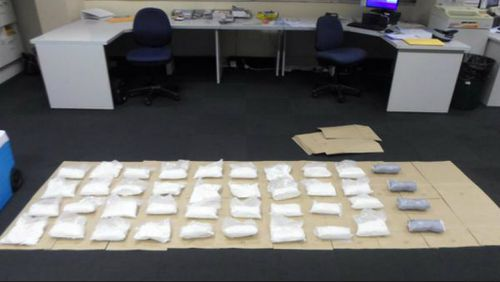 The haul was valued at $13 million. (NSW Police)