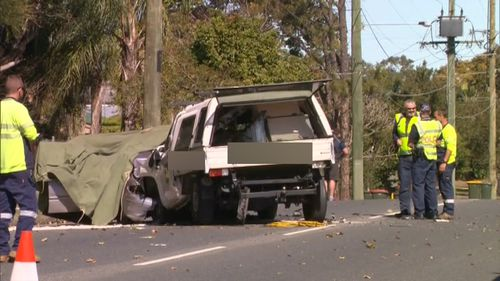 The other driver suffered minor injuries. (9NEWS)