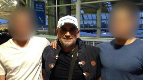 Terror accused Khaled Khayat attends Sydney Airport in 2014. (Supplied)