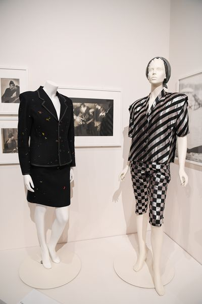 """Pieces from The Darnell Collection in Coming into <a href=""""https://theartscentregc.com.au/gallery/coming-into-fashion/"""" target=""""_blank"""" draggable=""""false"""">Fashion at the Arts Centre Gold Coast.</a>"""