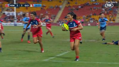 Brisbane Global Rugby Tens: Teen sensation Alysia Lefau-Fakaosilea an instant star