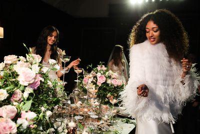 Monique Lhullier Bridal Fall 2018.