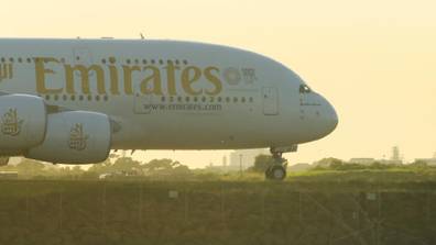 Emirates has cancelled the couple's flight home three times due to the coronavirus pandemic.