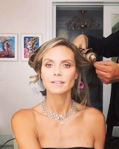 Model and TV host Heidi Klum