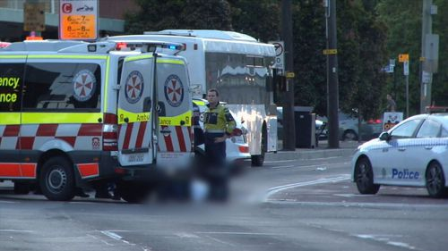 The 70-year-old man was pronounced dead at the scene by paramedics.