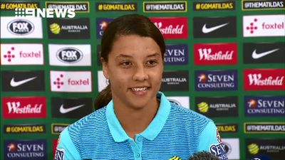 Matildas striker Sam Kerr hits back at sexist 'keyboard warriors'