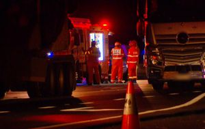 Two drivers 'arguing on highway' fatally hit by passing truck on NSW Far North Coast