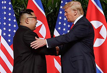 Daily Quiz: The 2018 North Korea-US summit was held in which country?
