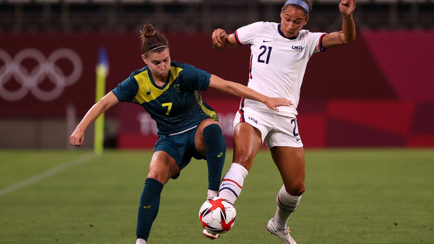 Matildas, USA held to draw.