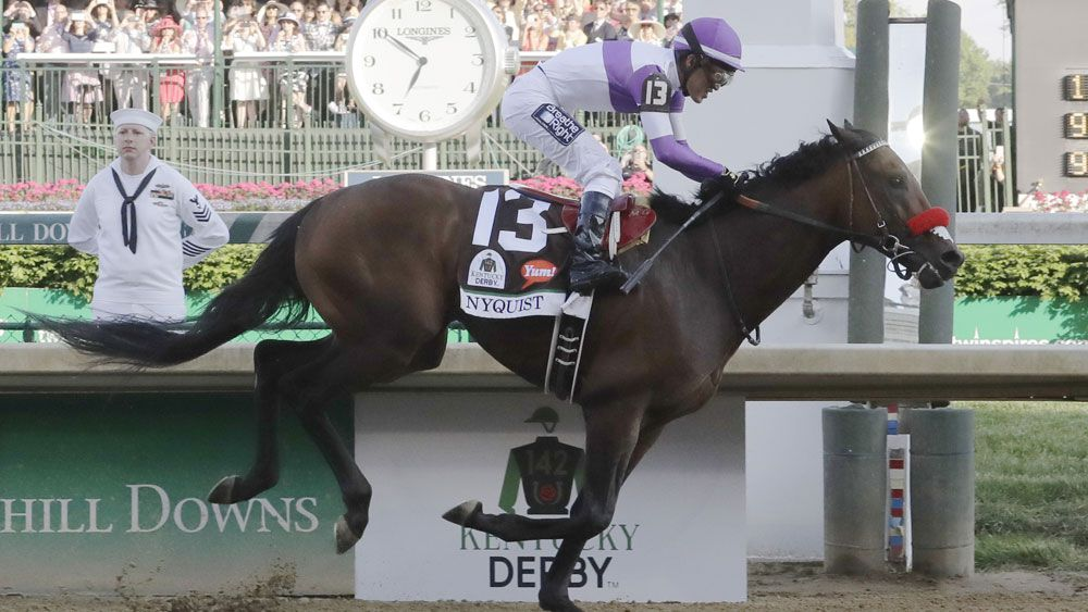 Nyquist wins the Kentucky Derby