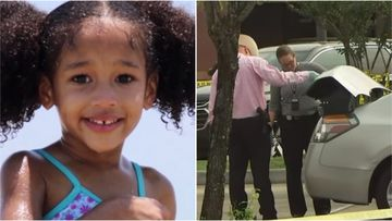 A car has been found abandoned in a car park in the search for missing Texas girl Maleah Davis.