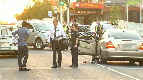 Police believe the attack was not random. (9NEWS)