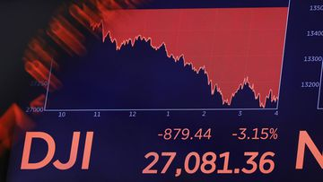 The Dow Jones has suffered its single biggest point drop in history.