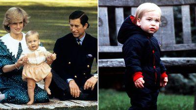 Prince William, 21 June 1982