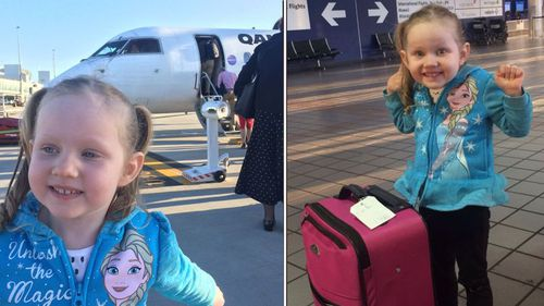 Annabelle Potts went to Mexico for treatment.
