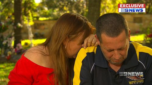 Ms Wells and Mr Egbert are heartbroken over the deaths of their grandchildren. (9NEWS)
