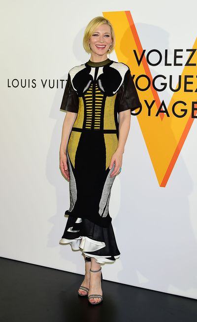 The stars came out in Tokyo last night to celebrate Louis Vuitton's 'Volez, Voguez, Voyagez' exhibition. Click through to see the very chic guest list.