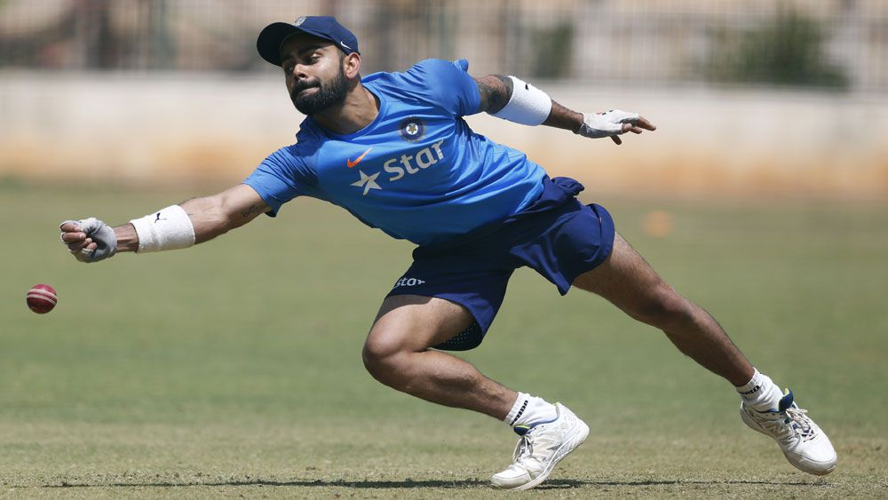 Virat Kohli said changes for the second Test against Australia are on the cards. (AAP)