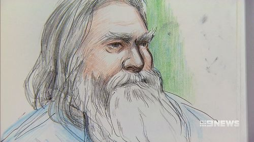 Ernest Fisher is accused of killing his son. Picture: 9NEWS