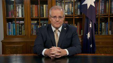 Prime Minister Scott Morrison addresses Australia on the latest coronavirus updates