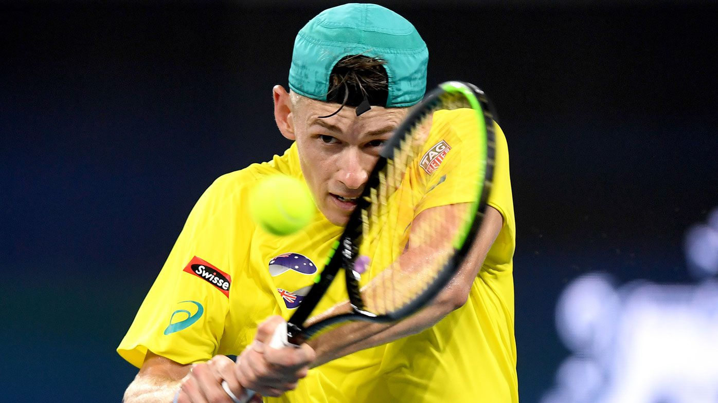 Alex de Minaur remains perfect in tennis return, winning latest exhibition match