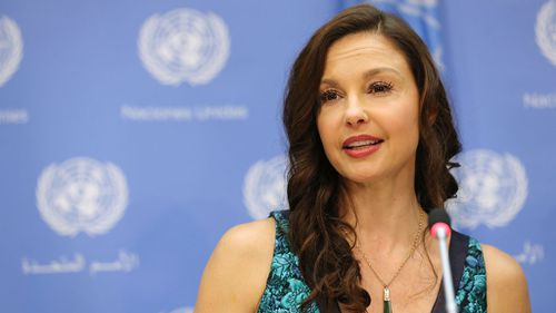 Actress Ashley Judd was one of the first women to publicly report harassment by Harvey Weinstein. (AAP)