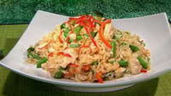 Chicken And Thai Basil Fried Rice