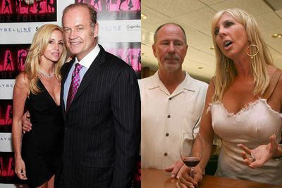 Cases in point: Most of the <i>Real Housewives</i>. <i>Beverly Hills</i>' Camille Grammer and <i>Orange County</i>'s Vicki Gunvalson both married unattractive blokes (Kelsey Grammer and Donn Gunvalson) and ended up divorcing them. No wonder!<br/><br/>Images: Getty