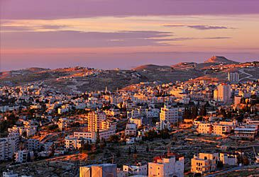 Daily Quiz: Which nation lies on the eastern border of the West Bank?