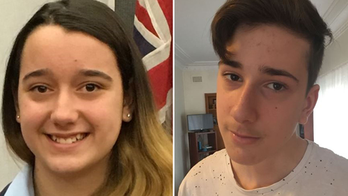 Jennifer, 13, and Jack, 15, had lived at the West Pennant Hills home with their mother since their parents' marriage broke down a number of years ago. Picture: Supplied