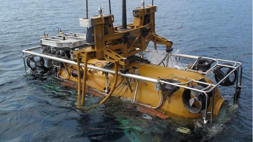 An undersea rescue module. (AAP)