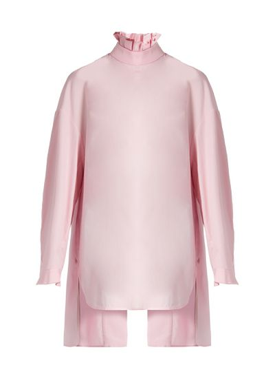 """Ellery pleated collar cotton shirt, $880 at <a href=""""http://www.matchesfashion.com/au/products/1097354"""" target=""""_blank"""">Matches</a><br>"""