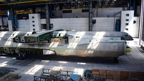World's largest unfinished aircraft hidden in Ukraine warehouse