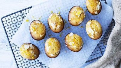 "<a href=""http://kitchen.nine.com.au/2017/06/02/15/29/orange-and-almond-friands-with-orange-syrup"" target=""_top"">Orange and almond friands with orange syrup</a> recipe"