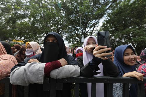 public caning in Banda Aceh